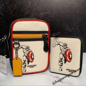 Coach x Marvel Captain America Crossbody Bag Set